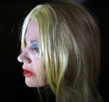 Marilyn diva Mask B realistic female látex face mujeres máscara mujer estrecha visión Rubber