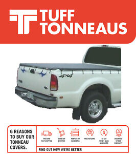 Bunji Ute Tonneau Cover for Ford F250 / F350 Extra / Single Cab 2001 - Current
