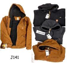 Carhartt J141 Sandstone Sierra Jacket Sherpa Lined REG & TALL [CADS-J141]