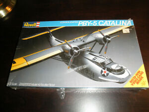 1/72 Consolidated PBY-5 CATALINA US Navy Boat Plane by Revell SEALED!