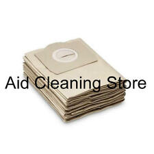 10x Karcher A2654 K2201 MV3 WD3.200 Wet & Dry Vacuum Cleaner Dust Bags 10PK AB27