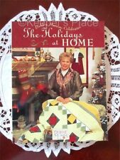 Debbie Mumm The Holidays At Home Quilt Pattern Book 81 Pages 25 Projects New