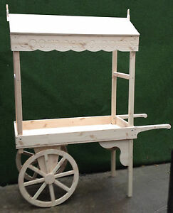 Candy cart market barrow sales events display garden barbecue flowers fruit