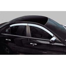 Chrome Window Visors Vent Set For 2011 2012 2013 2014 2015 2016 Kia Sportage