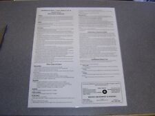 """Shuffleboard Rules Laminated Poster. Games, Board Care, Helpful Hints.16"""" x 20"""""""