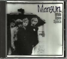 MANSUN Wide Open Space ULTRA RARE USA PROMO Radio DJ CD Single 1997 Great PHOTOS