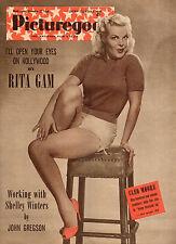 PICTUREGOER Nov 27th 1954 CLEO MOORE cover  Diana Dors portrait  Rita Gam