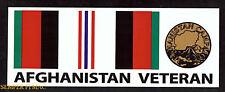 2 AFGHANISTAN BUMPER STICKER DECAL ZAP US ARMY MARINES NAVY AIR FORCE VETERAN