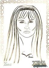 Xena R9 Xena Artifex insert card art by Renee O'Connor