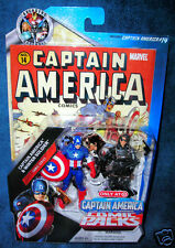 MARVEL UNIVERSE CAPTAIN AMERICA WINTER SOLDIER AVENGERS SHIELD AGENT RED LEGENDS