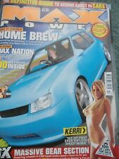 Max Power magazine December 2004 Kerri Parker RARE COLLECTABLE