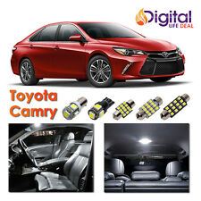 10x White Interior LED Lights Package Kit for 2007 - 2015 2016 2017 Toyota Camry