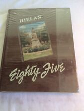 Hielan - Upland High School 1985 Yearbook - Upland, CA.