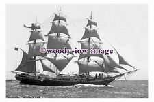 rs0103 - UK Sailing Ship - Joseph Conrad , built 1882 - photograph