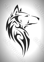 CELTIC/GOTHIC/TRIBAL melinex WOLF STENCIL  A5/A4 *NEW 190 micron *