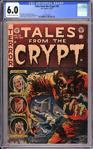 Tales From The Crypt #35 - Jack Davis Cover - CGC 6.0!