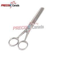 """PRECISE CANADA Texture Shears 6"""" Salon Hair Scissors W/Holster"""