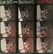 JOAN JETT Autographed Signed GOOD MUSIC Vinyl Record Album PSA DNA  THE RUNAWAYS