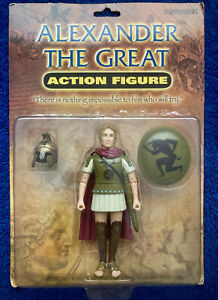 ALEXANDER THE GREAT Action Figure with Helmet & Shield Accoutrements Toy NEW