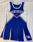 Nike Girls Size 6 Kentucky Cheerleader Uniform Blue White UK Halloween Costume