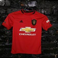 Manchester United Jersey Home shirt 2019 - 2020 Adidas DW4138 Size 9-10 YSR