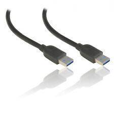 1.5m 5'feet USB 3.0 Super Speed Extension A Male to A Male A-A AM-AM Cable BLACK
