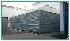 Lagerzelt Lagerhalle Trapezblechhalle 6x12m / 1x Schiebetor/Farbe nach Wahl