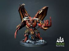 Daemon Prince chaos age of sigmar-  warhammer 40K ** COMMISSION ** painting