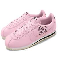 Nike Classic Cortez X Nathan Bell Pink Foam Black Mens Running Shoes BV8165-600