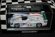 AUDI R8 #2 TEAM CHAMPION LE MANS 2004 - MINICHAMPS 1/43 400041302