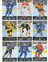 2019-20 UPPER DECK TIM HORTONS COMPLETE BASE SET 120 CARDS