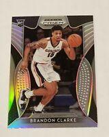 2019-20 Panini Draft Picks Brandon Clarke Silver Prizm Rookie RC #20 Grizzlies