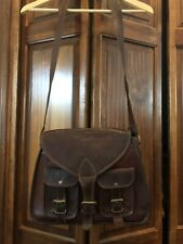Genuine Leather Italian Cross Body/Messenger Handbag