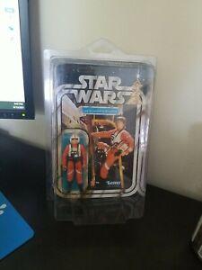MOC * Vintage Star Wars 21 B Back * Luke Skywalker (X-Wing Pilot) * UNPUNCHED!