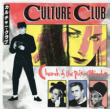 """Culture Club - Church of The Poison Mind 7"""" Single 1983"""