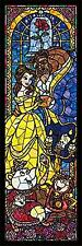 456 piece Jigsaw Puzzle Disney Beauty and the Beast Stained Glass (plastic)*