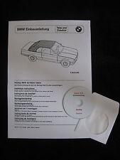 BMW E30 Cabrio Hardtop Einbauanleitung