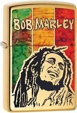Zippo Choice Bob Marley WindProof Lighter High Polish Brass 29490 NEW L@@K