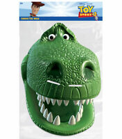 Rex from Toy Story 4 Official Single 2D Card Party Face Mask