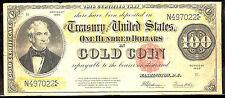 1922 $100 Gold Certificate -FR#1215