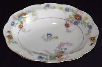 Theodore Haviland Limoges France Jewel @1936 Oval Veg. Bowl -Scallop Ivory/White
