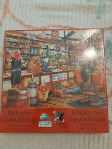 BACK IN THE GOOD OLD DAYS General Store 1000 Pc Puzzle SunsOut #28739 NEW SEALED