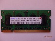 SAMSUNG 1GB 2RX16PC2-5300S-555-12-A3 M470T2864QZ3-CE6 0822 MEMORY MODULE