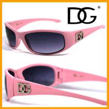 Lunettes de soleil rose noir plastique pour femme