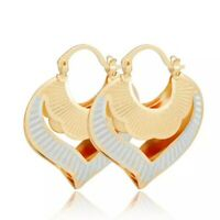 18k Layered real Gold Filled Hoop earring