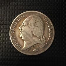 LOUIS XVIII  1 FRANC 1821 A TTB