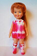 CINNAMON Doll Clothes Handmade Tie-Dye DRESS & BOOTS Custom Fashion NO DOLL d4e
