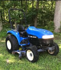 2001 NEW HOLLAND TC29D 4X4 COMPACT UTILITY TRACTOR 29hp DIESEL HYDROSTATIC