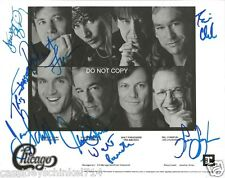 "Chicago band Reprint Signed 8x10"" Photo #1 RP Robert Lamm Autographed"