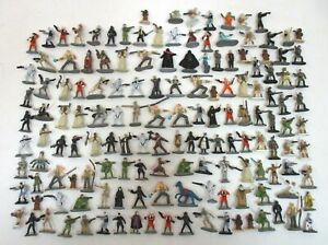 Lot Of 130+ STAR WARS Micro Machines Figures Original + Prequel Trilogy Galoob